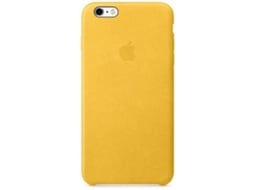 Capa APPLE Leather Marigold iPhone 6 Plus, 6s Plus Amarelo — Compatibilidade: iPhone 6 Plus, 6s Plus