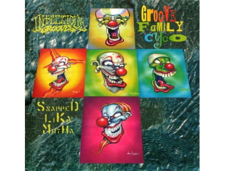 CD Infectious Grooves - Groove Family Cyco (Snapped Lika Mutha)