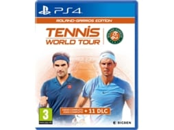 Jogo PS4 Tennis World Tour Roland: Garros Edition (Desporto - M3)