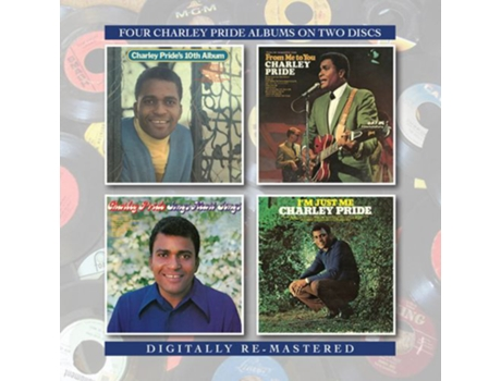 CD Charley Pride - Charley Pride's 10th Album/From Me To You/Sings Heart Songs/I'm Just Me