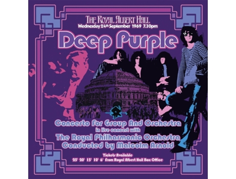 Vinil Deep Purple - Concerto For Group And Orchestra — Metal/Hard