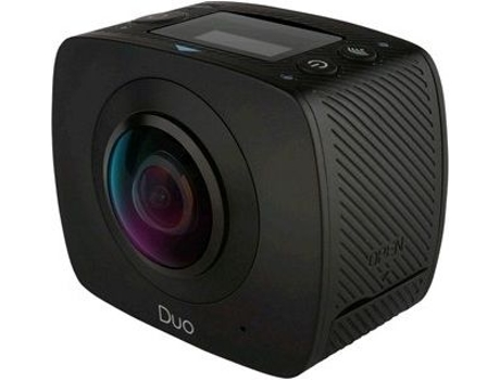 Action Cam GIGABYTE Duo 360 Jolt Preto — Full HD / Wi-Fi