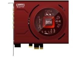 Placa de som CREATIVE Sound Blaster Zx — PCI-Express