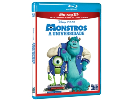 Blu-Ray 3D Monstros - A Universidade — Do realizador Dan Scanlon