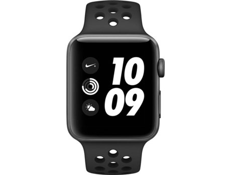 APPLE Watch Nike + 42mm Space Grey Aluminium Case Anthracite Black Band — iOS / 42 mm / Bluetoot 4.2 e Wi-fi