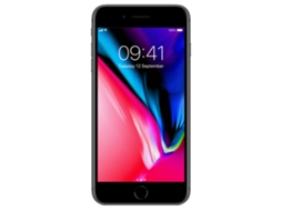Smartphone APPLE iPhone 8 Plus 64GB Cinzento sideral — iOS 11 | 5.5'' | A11 Bionic