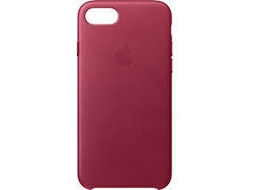 Capa APPLE Leather Berry iPhone 7, 8 Vermelho — Compatibilidade: iPhone 7, 8