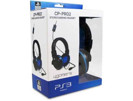 Auscultador Gaming 4GAMERS CP-Pro 2 — PS3