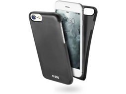 Capa SBS Color Feel iPhone 6, 6s, 7, 8 Preto — Compatibilidade: Apple iPhone 6, 6s, 7, 8