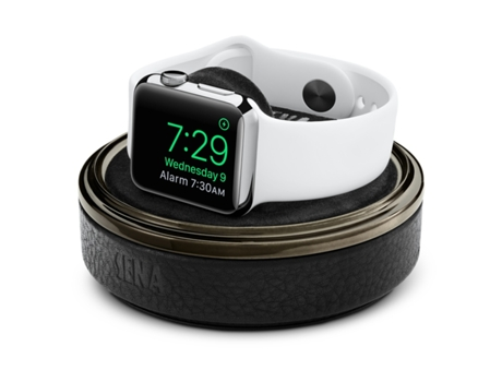 Estojo de Pele SENA Apple Watch — Estojo / Apple Watch