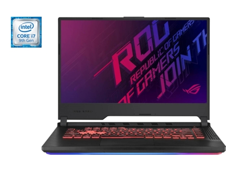 Portátil Gaming ASUS ROG G531GT-79C15PB1 (Intel Core i7-9750H - NVIDIA GeForce GTX 1650 - RAM: 8 GB - 512 GB Flash PCIe - 15.6'') — Windows 10
