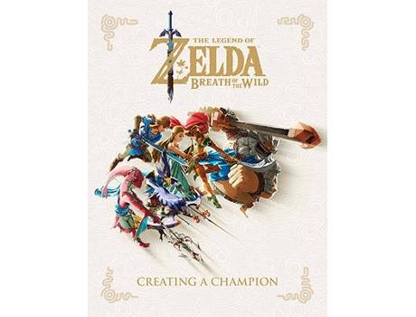 Marca do fabricante - Livro The Legend Of Zelda: Breath Of The Wild--Creating de Nintendo