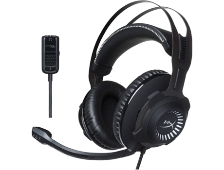 Microauscultadores Gaming HYPERX by Kingston Cloud Revolver — Com fio | 12-28000 Hz