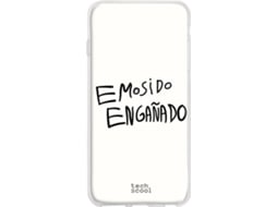 Capa LG V50 ThinQ 5G TECHCOOL Emosido Engañado Branco