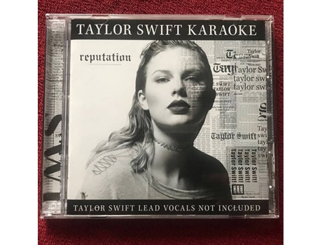 CD + DVD Taylor Swift - Taylor Swift Karaoke: Reputation