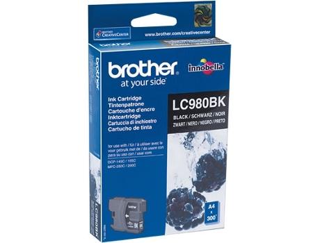 Tinteiro Brother Lc-980Bk Preto   [4220989 ]