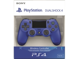 Comando PS4 Dualshock Wave Azul v2 (Wireless) — PS4