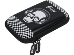 Bolsa para Disco Externo / Powerbank 2.5'' EVITTA Skull Great Life — Para Disco Externo / Powerbank 2.5''