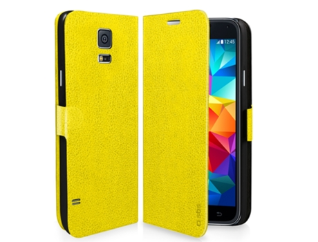 Capa SBS Book Samsung Galaxy S5 Mini Amarelo — Compatibilidade: Samsung Galaxy S5 Mini