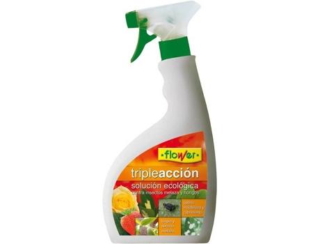 Inseticida FLOWER Spray Tripla Ação 750 ml