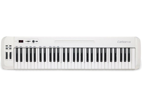 Teclado MIDI SAMSON Carbon 61 (61 Teclas)
