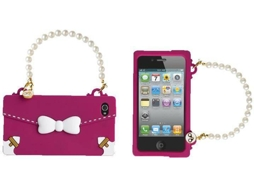Capa MAIWORLD Oblige iPhone 4, 4s Rosa — Compatibilidade: iPhone 4, 4s