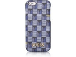 Capa iPhone 6, 6s, 7, 8 GUESS Jet Set Azul — Compatibilidade: iPhone 6, 6s, 7 ,8