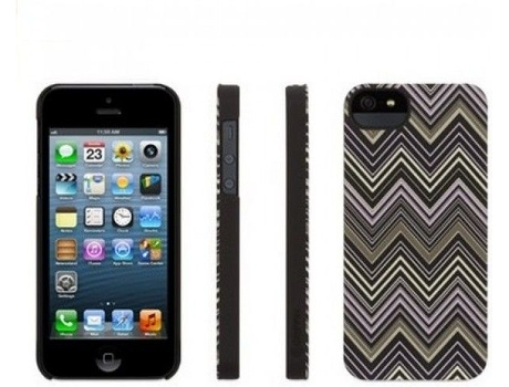 Capa GRIFFIN Griffin Chevron iPhone 5, 5s, SE Verde — Compatibilidade: iPhone 5, 5s, SE