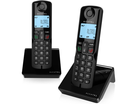Telefone DUO ALCATEL S250 Preto | [5899195 ]