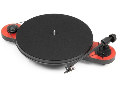 Gira-Discos PRO-JECT Elemental R/B — Manual / Velocidade: 33/45