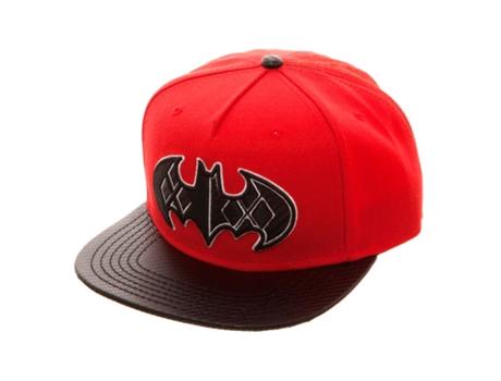 Boné BIOWORLD Batman Vermelho  a54033921c0