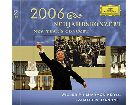 CD WP Jansons - Concerto de Ano Novo 2006 — Pop-Rock
