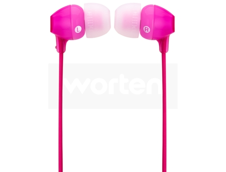 Auriculares Com fio SONY MDR-EX15LP (In Ear - Rosa) — In Ear | Atende chamadas