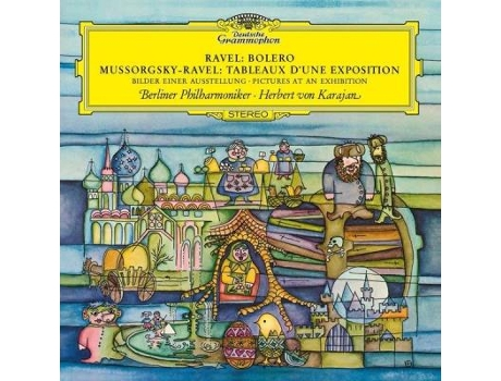 Vinil Ravel: Bolero/Mussorgsky-Ravel - Pictures at an Exhibition — Clássica