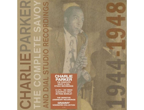 UNIVERSAL-MUSIC - Vinil Charlie Parker - The Complete Savoy And Dial Studio Recordings 1944-1948