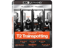 Blu-Ray 4K + Blu-Ray T2 Trainspotting — Do realizador Danny Boyle