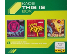 CD Vários - Kaos: This Is Box — House / Electrónica