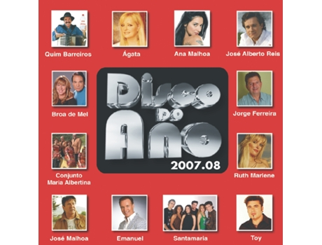 CD Disco do Ano 2007/2008 — Portuguesa