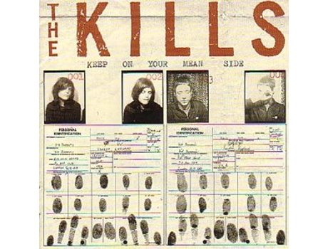 Vinil The Kills - Keep On Your Mean Side — Pop-Rock Internacional
