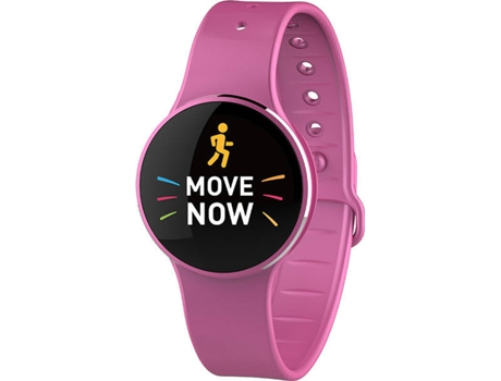 Smartwatch MYKRONOZ ZeCircle 2 Rosa — Android, iOS e Windows Phone / 70 mAh