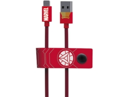 Cabo TRIBE Marvel USB-Lightning Iron Man — USB-Lightning