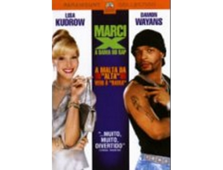 DVD Marci x- Dama do Rap — De: Richard Benjamin | Com: Lisa Kudrow, Damon Wayans, Richard Benjamin