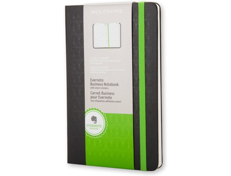 Bloco MOLESKINE Evernote Business — Bloco de Notas