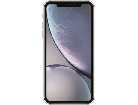 Smartphone APPLE iPhone XR 64 GB Branco — iOS 12 | 6.1'' | A12 Bionic