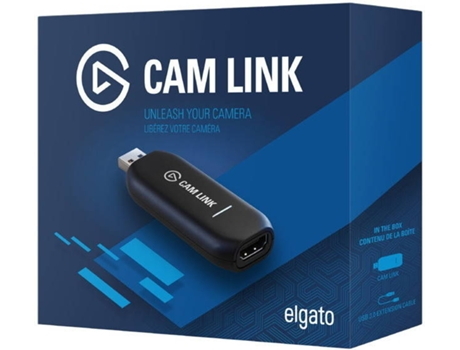 Adaptador video ELGATO Cam Link — HDMI / USB 3
