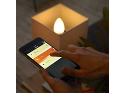 Lâmpada PHILIPS HUE Ambiance B39 E14 Branco — Smart Lighting | E14