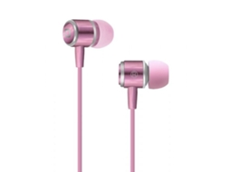 Auriculares SBS Stereo Studiomix 40  Rosa — Compatibilidade: Universal
