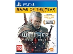 Jogo PS4 The Witcher 3: Wild Hunt GOTY Edition — RPG / Idade Mínima Recomendada: 18