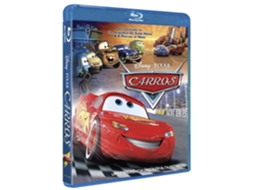Blu-Ray Carros — De: John Lasseter,Joe Ranft | Com: Owen Wilson,Bonnie Hunt,Paul Newman,Michael Keaton,Larry the Cable Guy