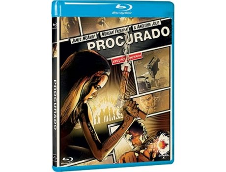 Blu-Ray Procurado - Heróis do Cinema — De: Timur Bekmambetov | Com: Angelina Jolie,James Mcavoy,Morgan Freeman